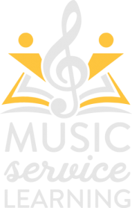 Music Service Learning Logo