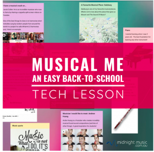 Musical Me Lesson
