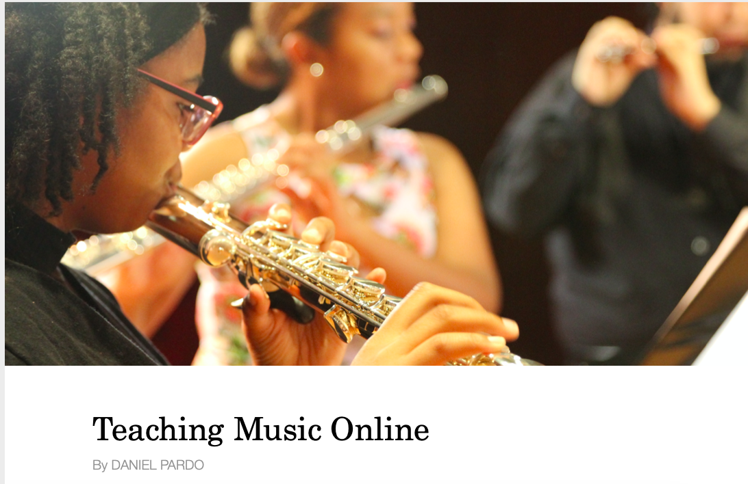 Teaching Music Online