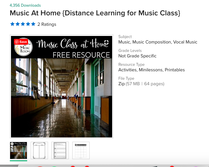 Music Class Worksheets