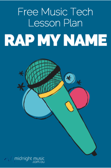 """Rap My Name"" logo"