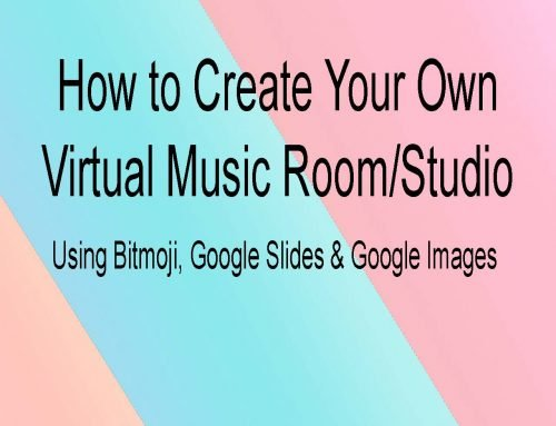 Virtual Classroom Music Room Instructions